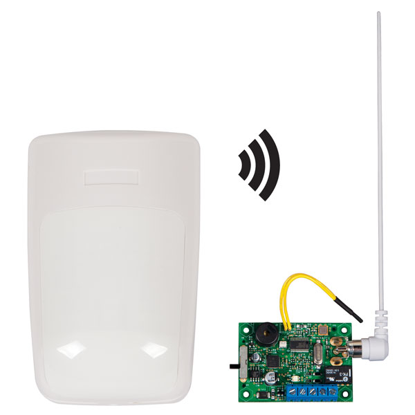 Wireless Alert Series With Single Channel Slave Receiver