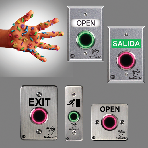 Contactless IR Switches